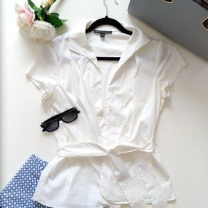 🗽Lafayette New York Blouse with Sash (US 10)